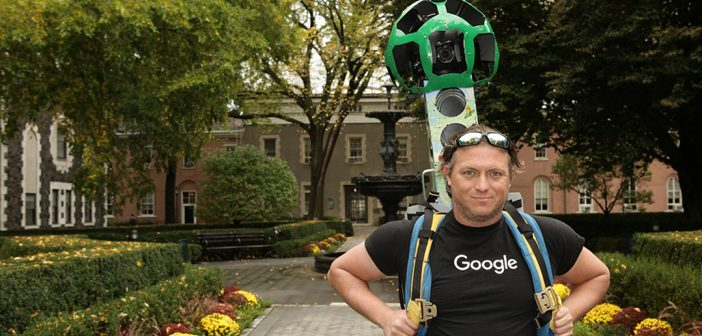 Google Trekker on Campus
