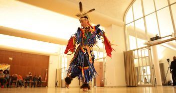 Native American dancer