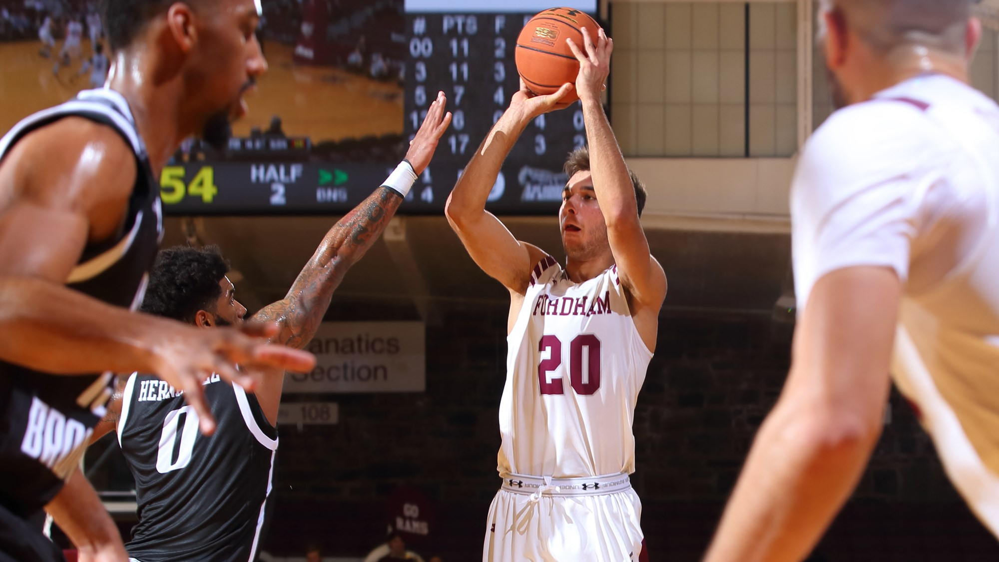 Men's Basketball Falls at Rutgers