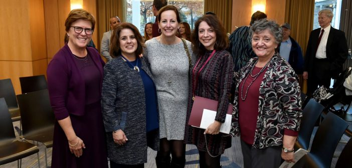 Fordham University honors support staff at the 1841 Awards on Nov. 29.