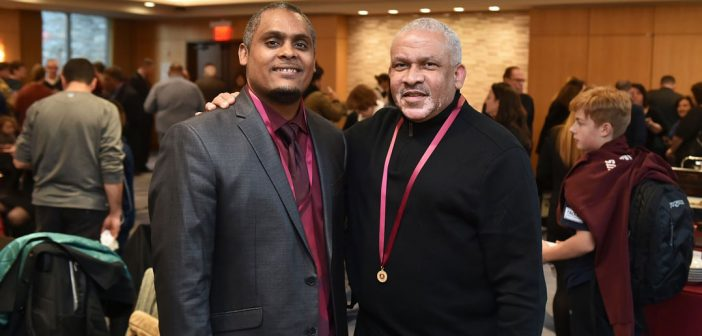 (L-R) Awardees Jose M. Soto and Darrell DeSilva.