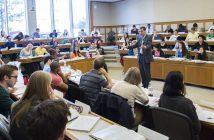 a class at Harvard Law School