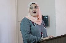 Biology student Salma Youssef
