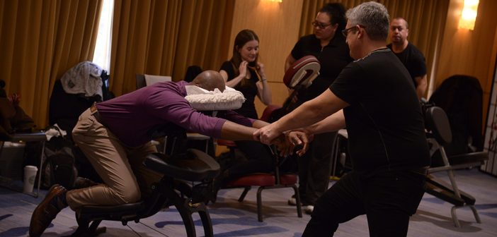 Fordham Unwinds at Stress Relief Event