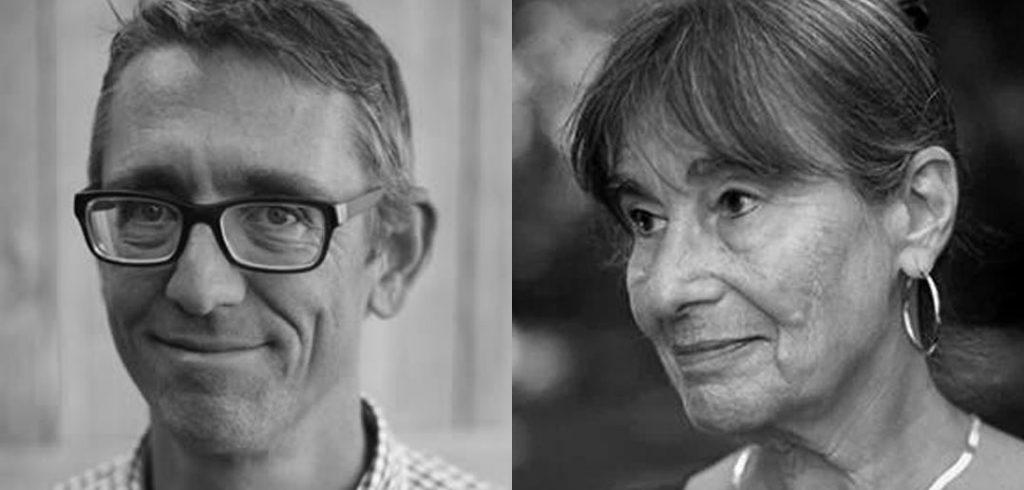 Poets Jay Hopler and Alicia Ostriker