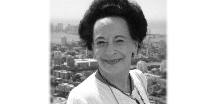 University Remembers Irma Jaffe, Founder of Music and Art History Department