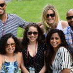 Alumni at the Jubilee picnic
