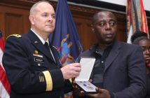 ROTC commander and father of Fallen Bronx Hero
