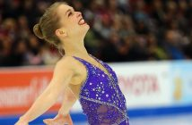 Figure skater and alumna Nicole Rajicova