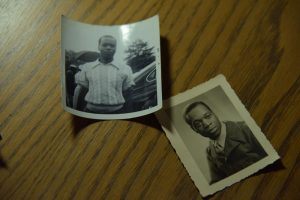 Two photographs of Reginald T. Brewster during the 1940s.