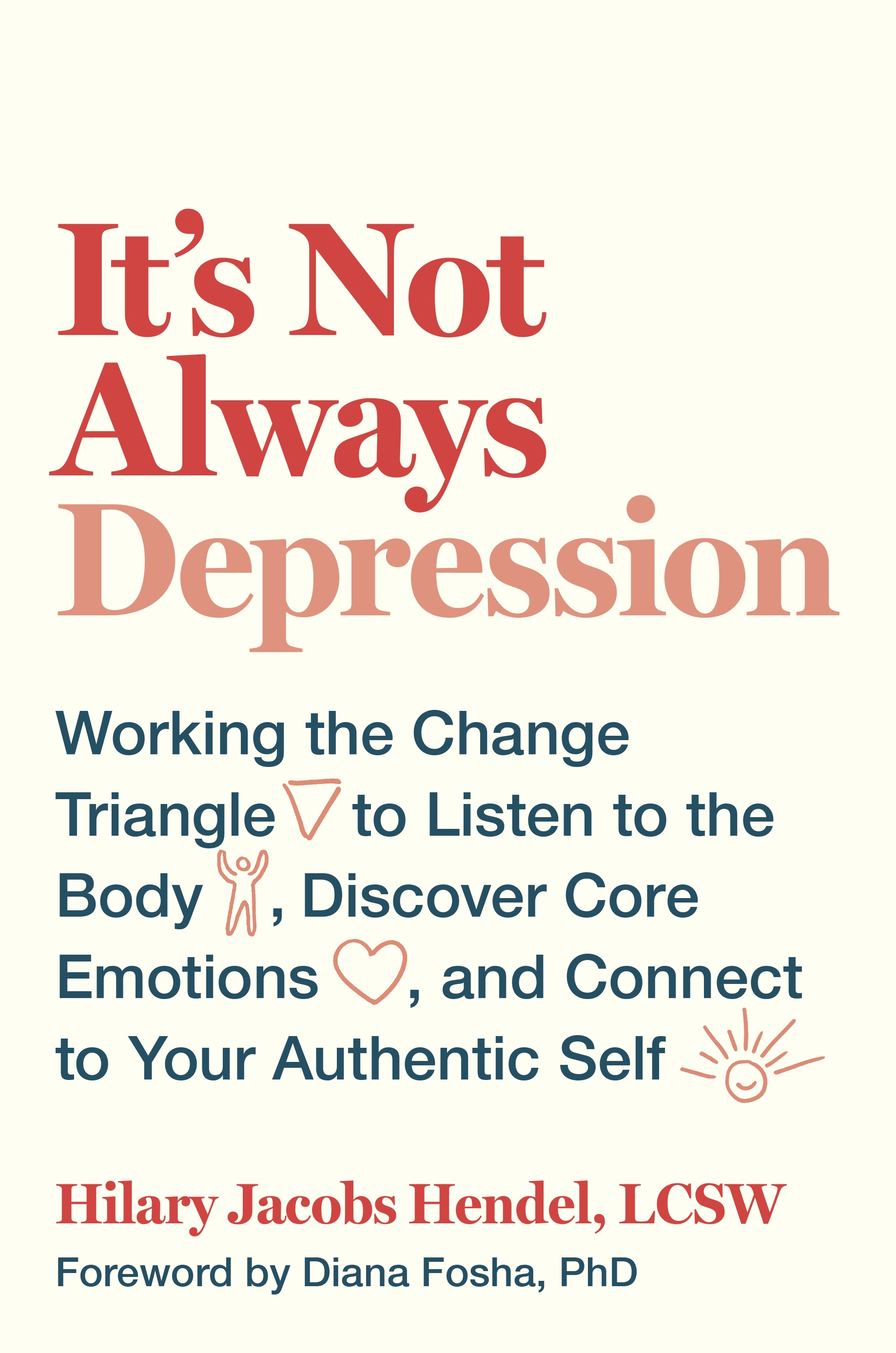 "book cover for ""It's Not Always Depression"""