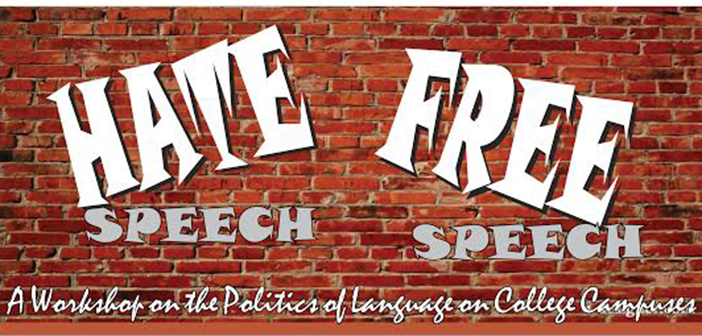 hate speech college campuses