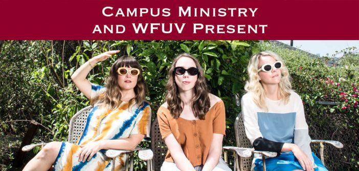 Campus Ministry and WFUV Present I'm With Her: Sara Watkins, Sarah Jarosz, and Aoife O'Donovan