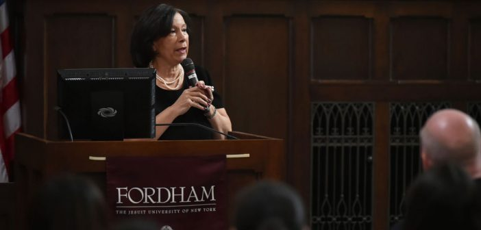 Marlene Cintron, GSE '77, president of The Bronx Overall Economic Development Council
