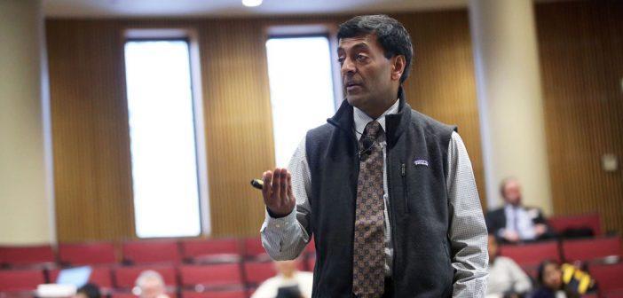 Keynote speaker Sanjiv Das