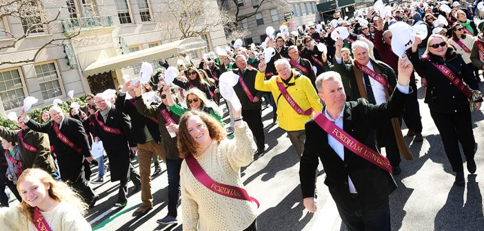 Fordham Marches: Celebrating Immigrants from Ireland and the World