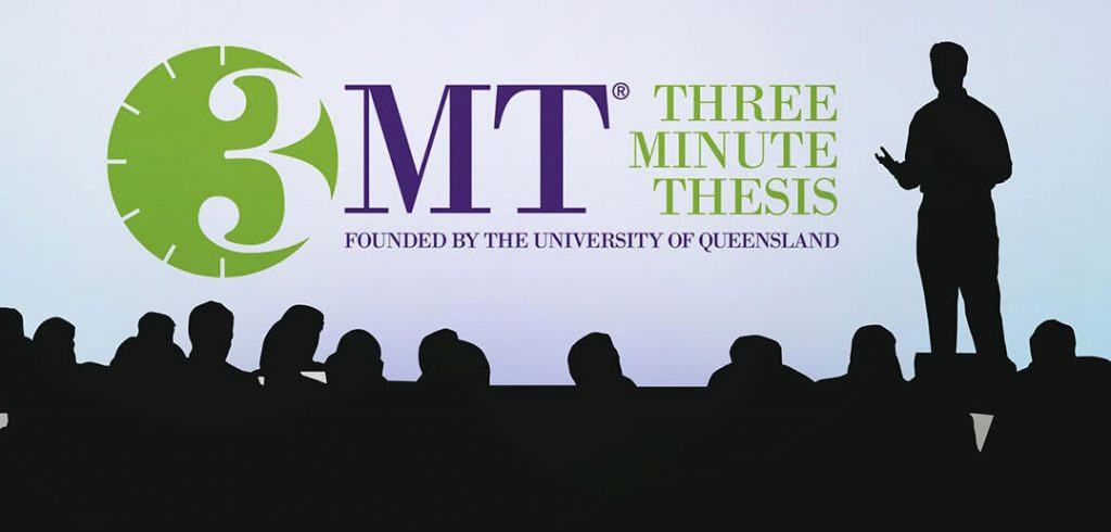 Three Minute Thesis: Founded by the University of Queensland