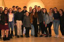 Mathilde Freund with Students
