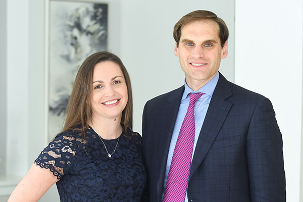 Elizabeth Pinho-Cosenza and Todd Cosenza