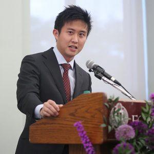 Alumnus of the Year Sihien Goh