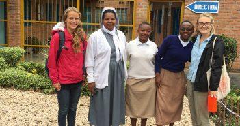 Sydney Kornegay in Malawi with