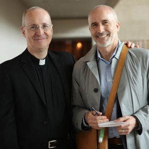 Father Martin and David Gibson