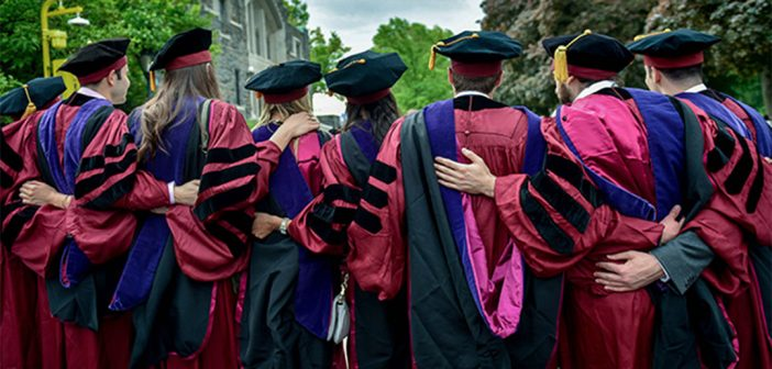 Fordham Law graduates