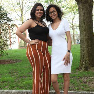 Nemesis Dipre and Vanessa Reyes