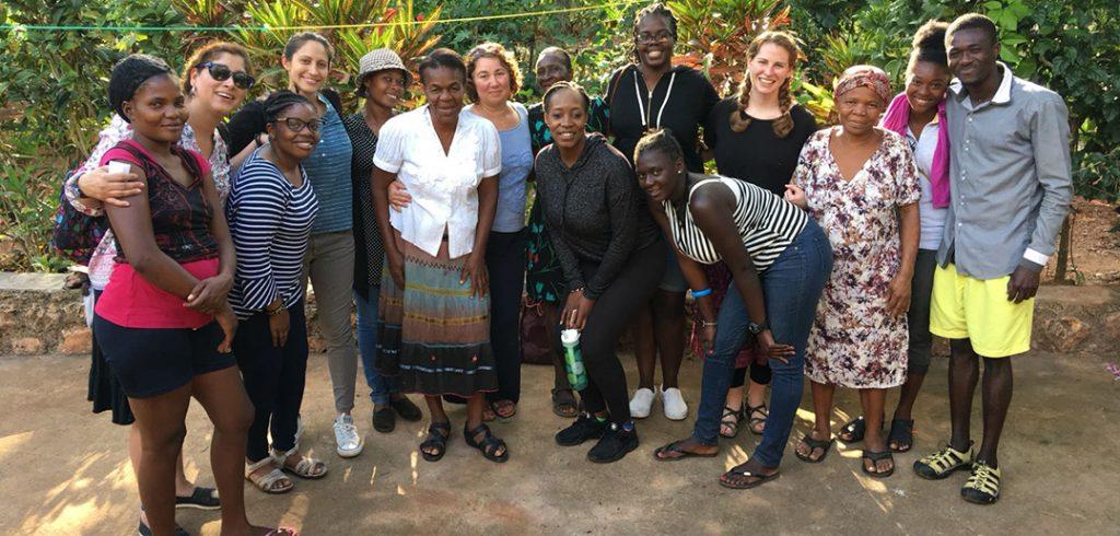The GSS team in Haiti