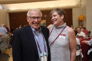 Don Quinn, FCRH '58, and Carolyn Quinn Hickey, FCRH '88