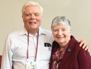 Richard Priest, FCRH '68 and Louise Zotttoli Priest, TMC '68