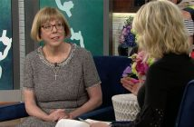 Nancy Vericker is shown during her appearance on Megyn Kelly Today.