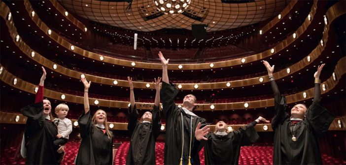 NYC Ballet performers graduate from Fordham
