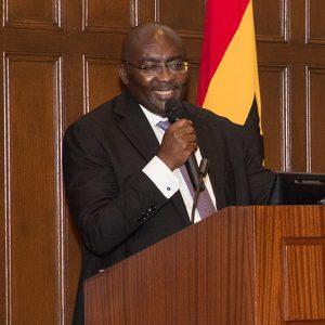 Vice President of Ghana H.E. Mahamudu Bawumia, Ph.D.,