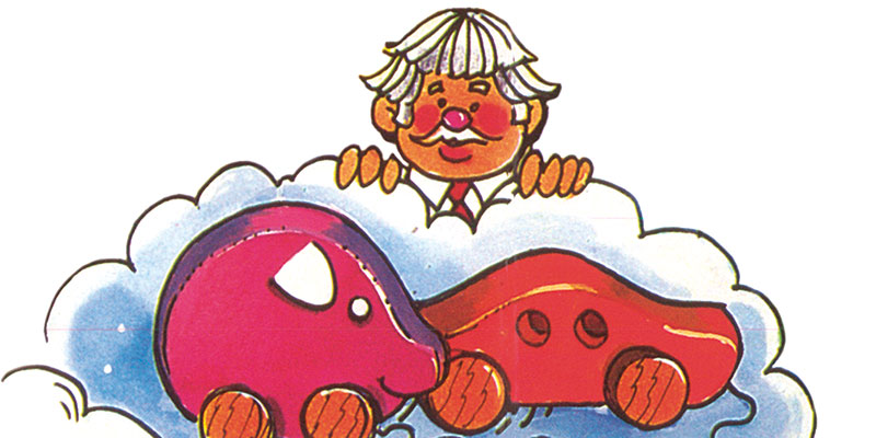 Captain Kangaroo Wooden Toys (Illustration by Adele Schnapp courtesy of Howard Wexler)