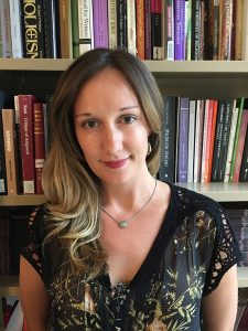 Headshot of Kathryn M. Reklis, an assistant professor of theology at Fordham