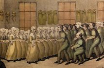 """Shakers, their mode of Worship"" by D. W. Kellogg, Hartford, CT, circa 1835"