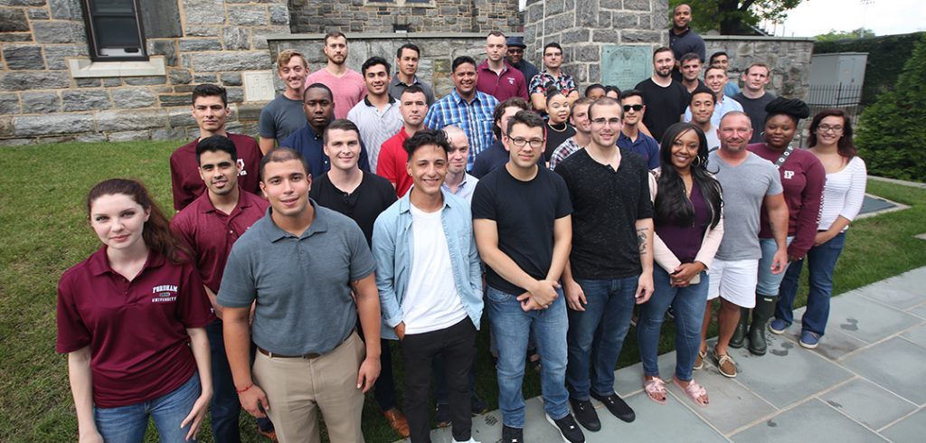 The new cohort of student veterans