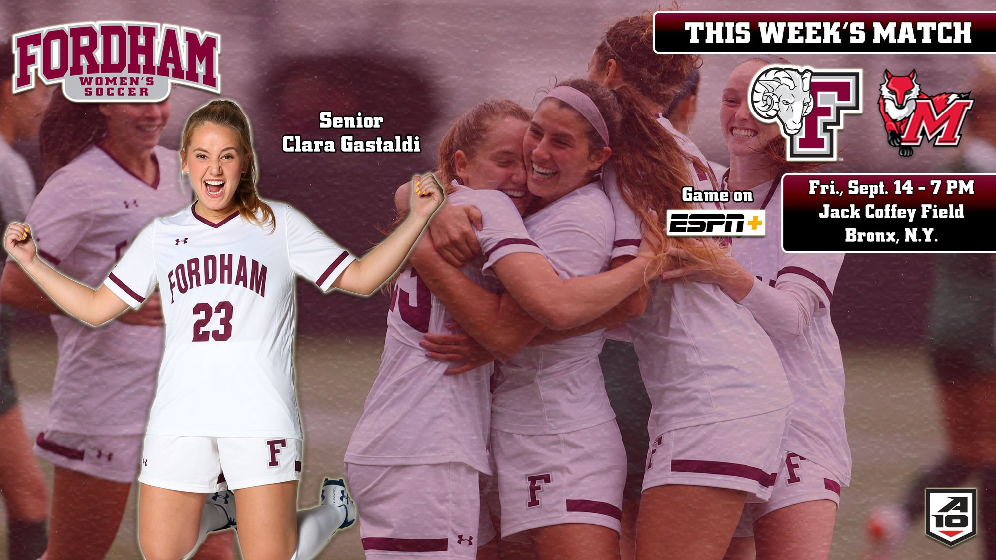 Women's Soccer Hosts Final Non-Conference Match Friday