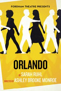 The poster for the production of Orlando