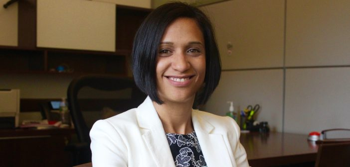 Christie-Belle Garcia, the new assistant dean for student support and success