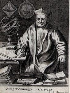 Christopher Clavius, S.J.
