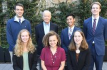 The six new Cunniffe scholars