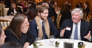 Fordham Alumni and Benefactors Mentor the Younger Generation
