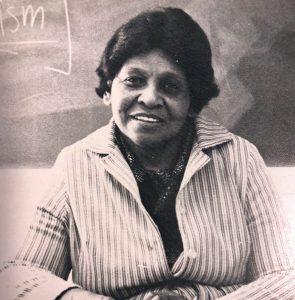 Olivia Hooker in 1980