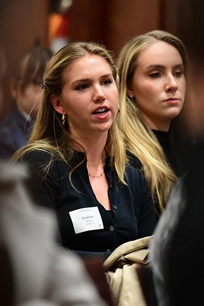 Fordham student Juliette Dixon