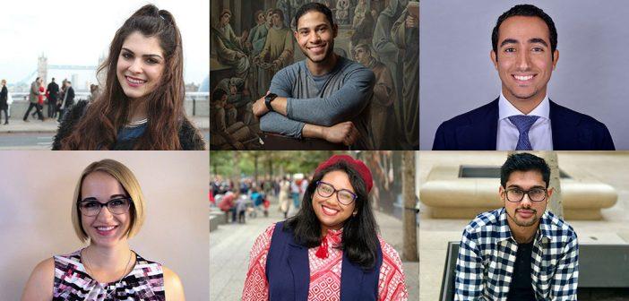Composite image of six recent Fordham graduates