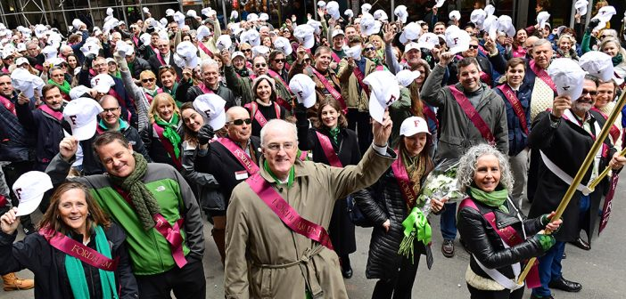 Fordham Celebrates St. Patrick's Day With a Mix of Melancholy and Joy