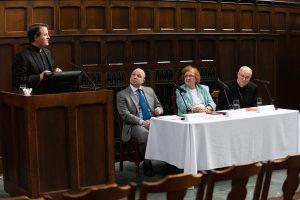 Michael C. McCarthy, SJ , Michael Canaris, Ph.D, Anne-Marie Kirmse, O.P, and James Massa,