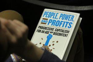 A picture of the cover of Stigliz' new book.